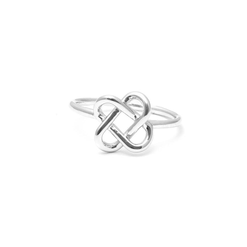 Love Knot Ring Jewelry jill-and-mia 925 Silver XS - 49 (15.6mm)