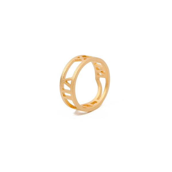 Luna #2 Jewelry masha-sedgwick 925 Silver Gold Plated S - 52 (16.6mm)