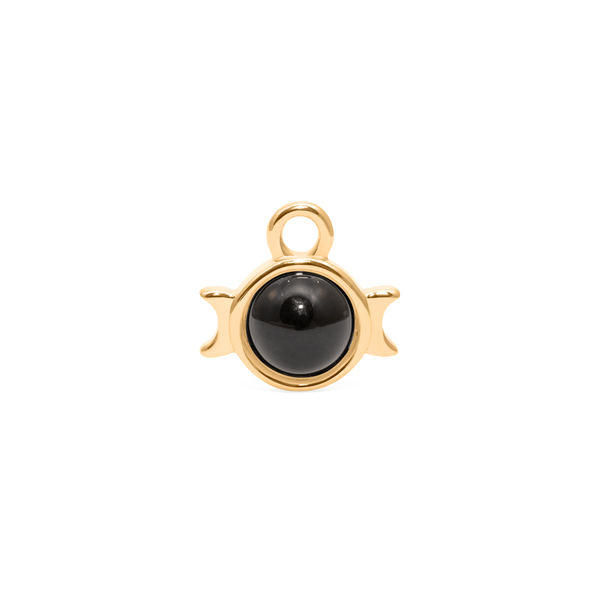 Magic Spell Charm Nr.1 Onyx Jewelry jacko-wusch 925 Silver Gold Plated