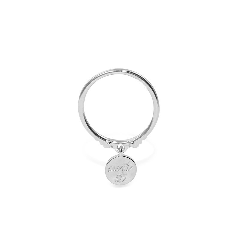Magic Spell Charm Ring Nr.3 Jewelry jacko-wusch 925 Silver XS - 49 (15.6mm)