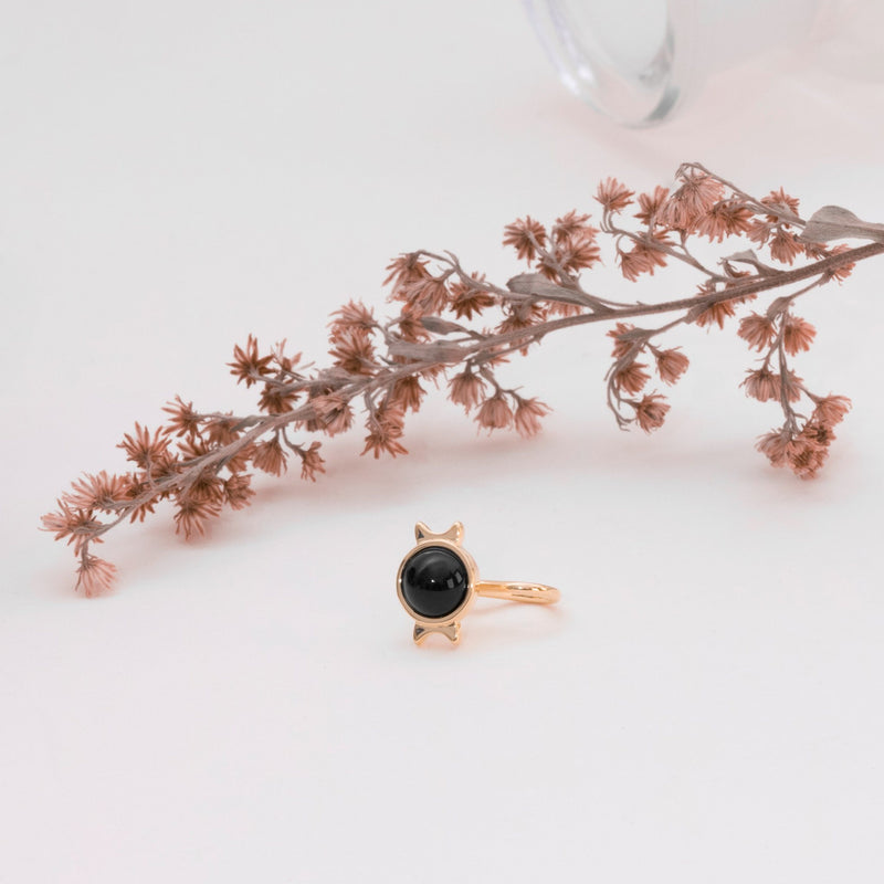 Magic Spell Earcuff Nr.1 Onyx Jewelry jacko-wusch