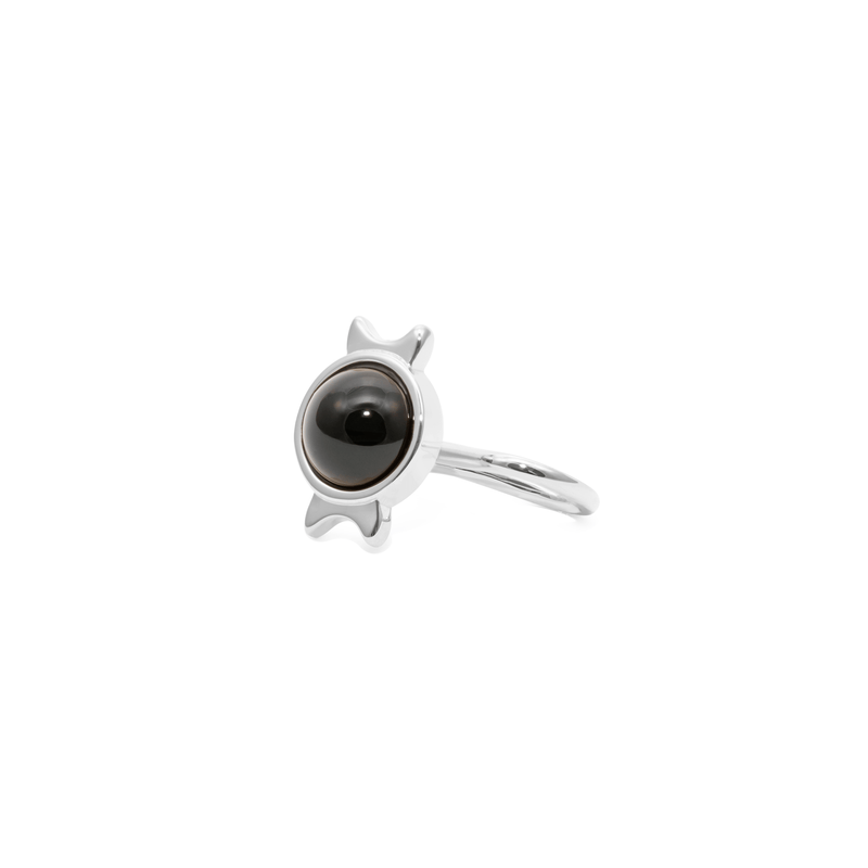 Magic Spell Earcuff Nr.1 Onyx Jewelry jacko-wusch 925 Silver
