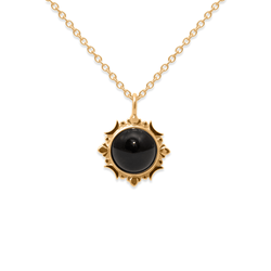 Magic Spell Kette Nr.1 Onyx Jewelry jacko-wusch 925 Silver Gold Plated S (45cm)