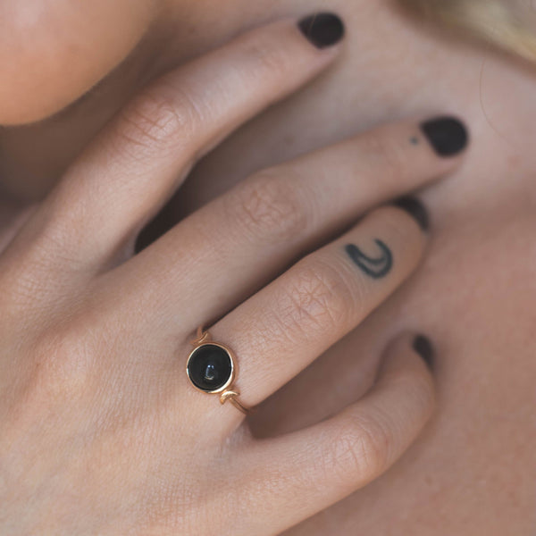 Magic Spell Ring Onyx Jewelry jacko-wusch