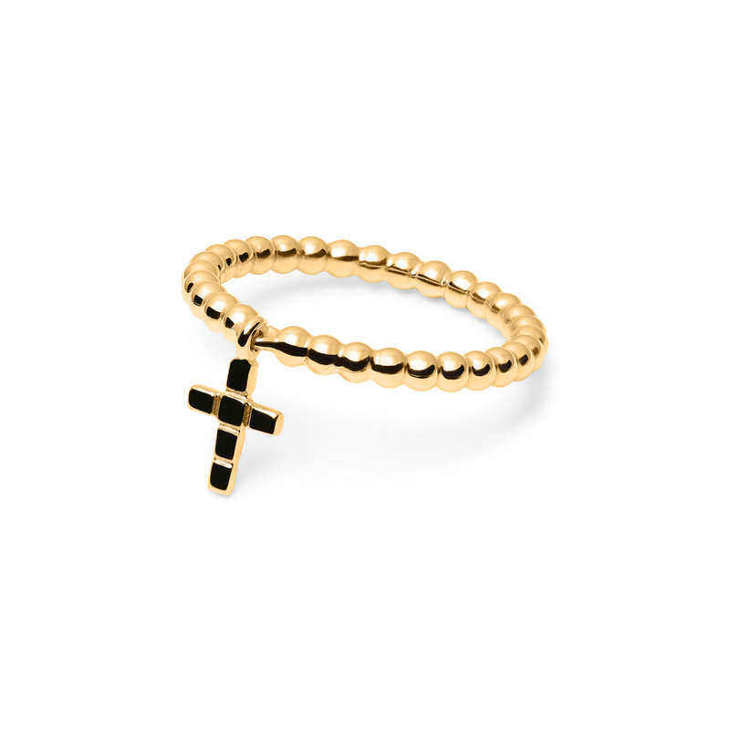 Make a Wish Cross Ring Jewelry luisa-lion