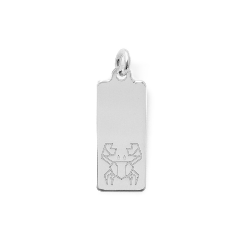 Make a Wish Krebs Tag Anhänger Jewelry luisa-lion 925 Silver