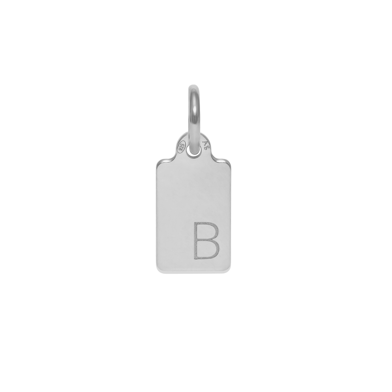 Make A Wish Letter B Tag Anhänger Jewelry luisa-lion 925 Silver