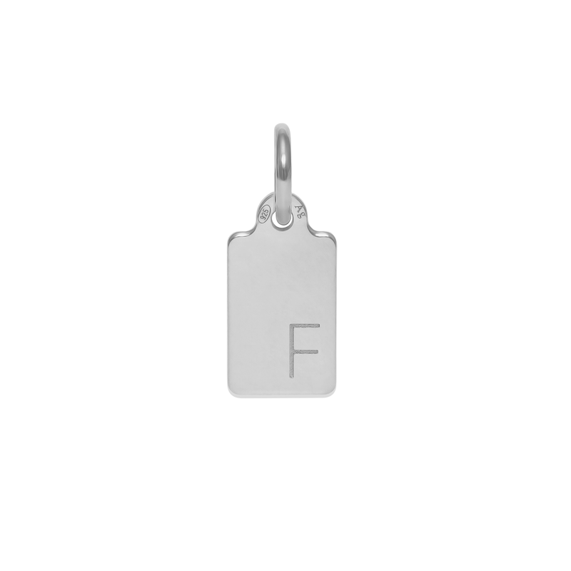 Make A Wish Letter F Tag Anhänger Jewelry luisa-lion 925 Silver