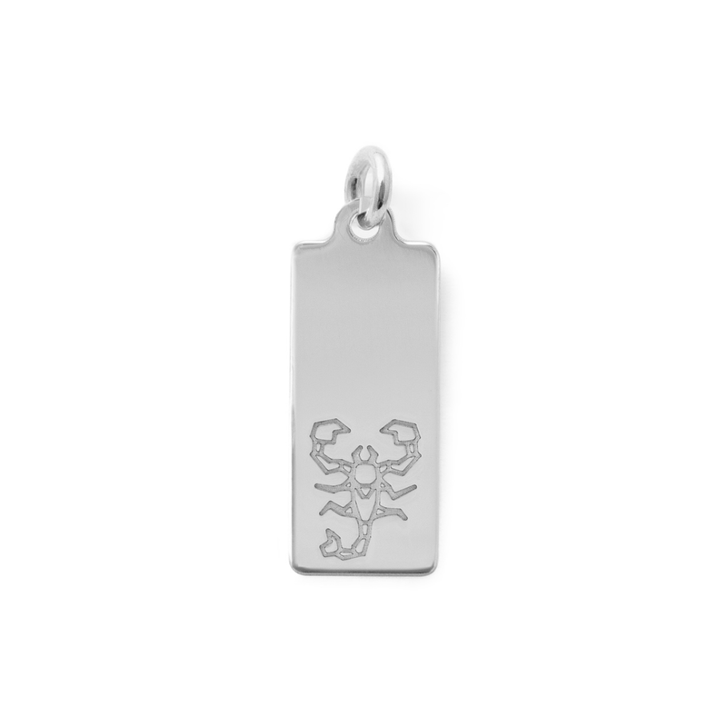 Make a Wish Skorpion Tag Anhänger Jewelry luisa-lion 925 Silver