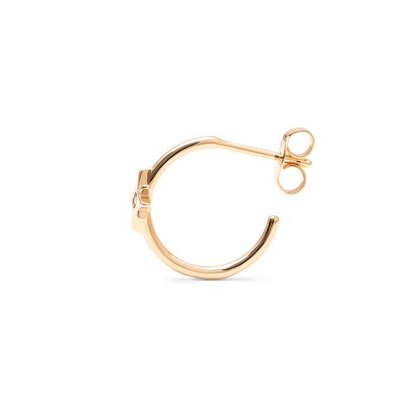 Make a Wish Starry Ear Hoops Jewelry luisa-lion