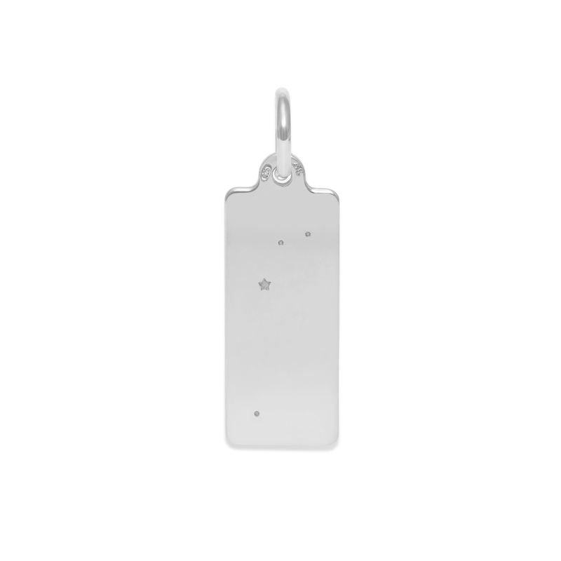 Make A Wish Widder Constellation Tag Anhänger Jewelry luisa-lion 925 Silver