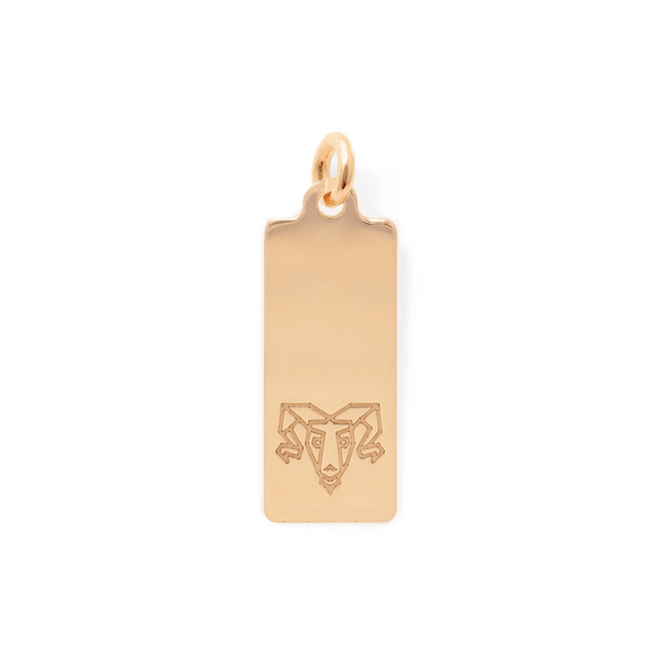 Make a Wish Widder Tag Anhänger Jewelry luisa-lion 925 Silver Gold Plated