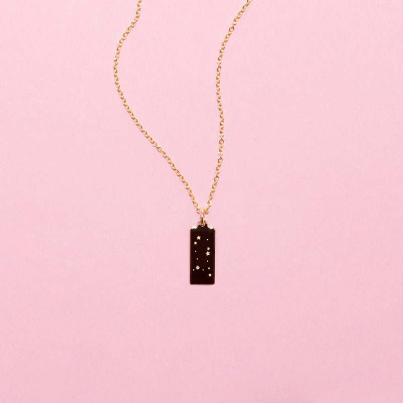 Make A Wish Zwillinge Constellation Tag Kette Jewelry luisa-lion