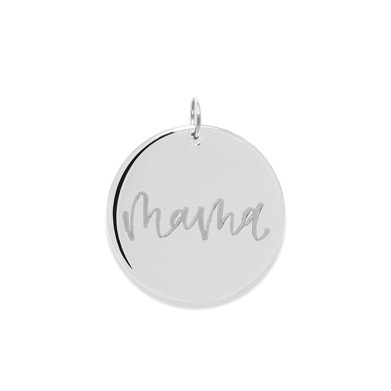 Mama Anhänger #mommycollection Jewelry frau-hoelle 925 Silver