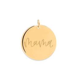 Mama Anhänger #mommycollection Jewelry frau-hoelle 925 Silver Gold Plated