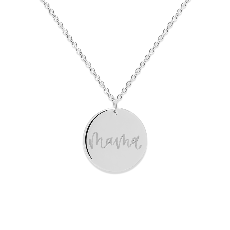 Mama Kette #mommycollection Jewelry frau-hoelle 925 Silver S (45cm)
