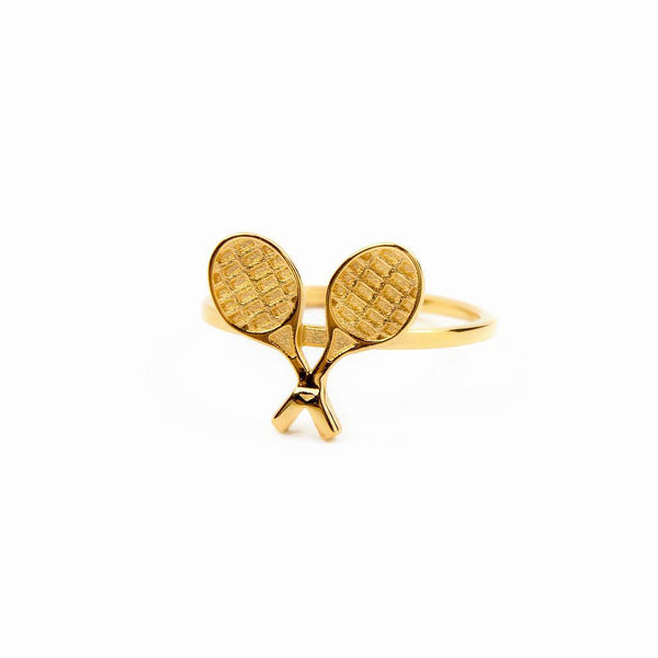 Matchpoint #1 Jewelry hien-le 925 Silver Gold Plated S - 52 (16.6mm)