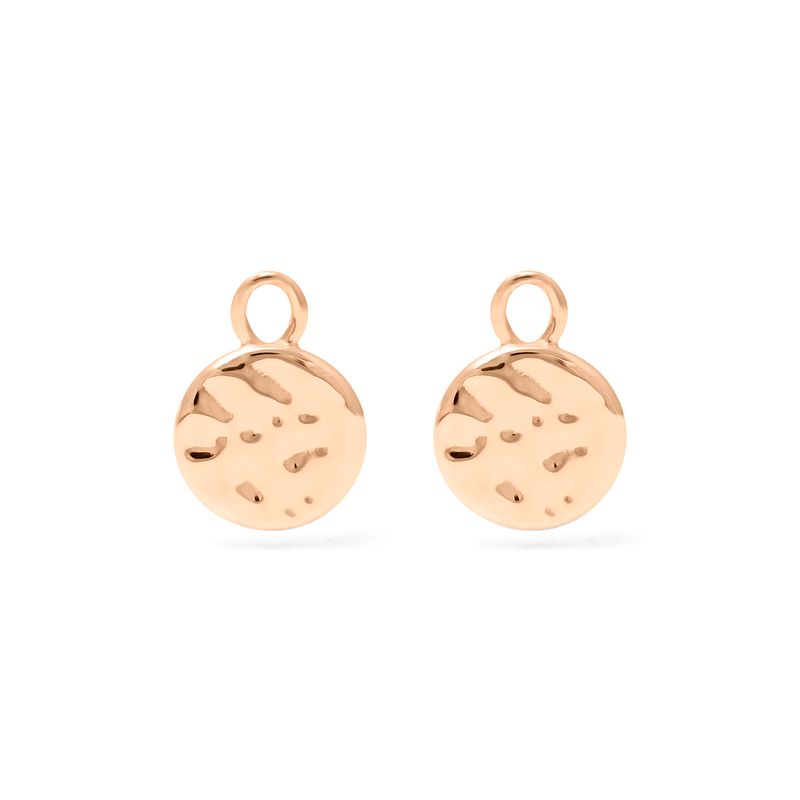Meadow Pendant Set (Pair) - Solid Gold Jewelry useless 14ct solid Gold