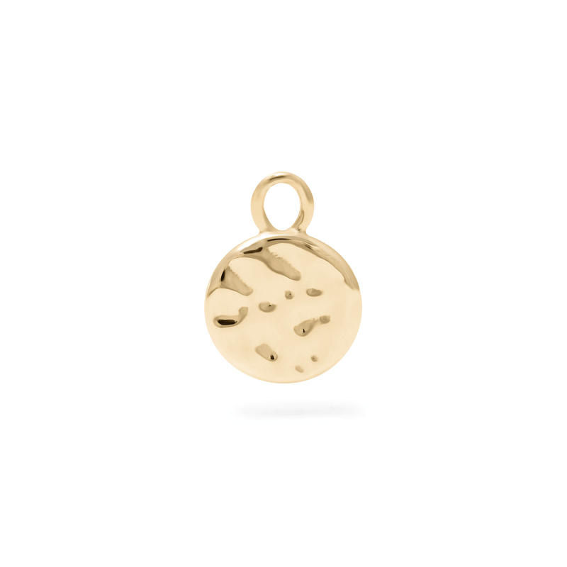 Meadow Pendant - Solid Gold Jewelry useless 14ct solid Gold