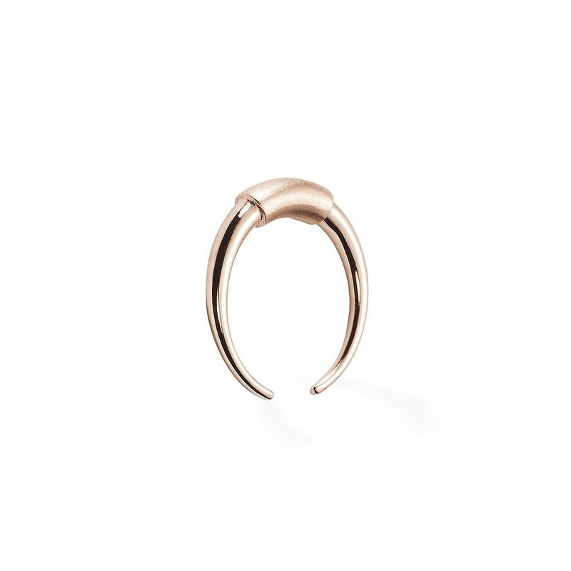 Modern Tribe Ring Jewelry marianna-maekelae 925 Silver Rose Gold Plated XS - 49 (15.6mm)