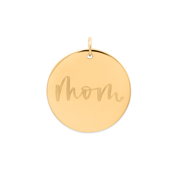 Mom Anhänger #mommycollection Jewelry frau-hoelle 925 Silver Gold Plated