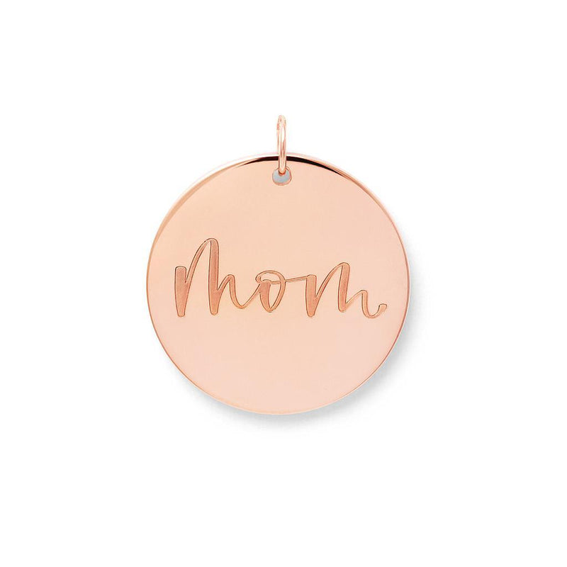 Mom Anhänger #mommycollection Jewelry frau-hoelle 925 Silver Rose Gold Plated