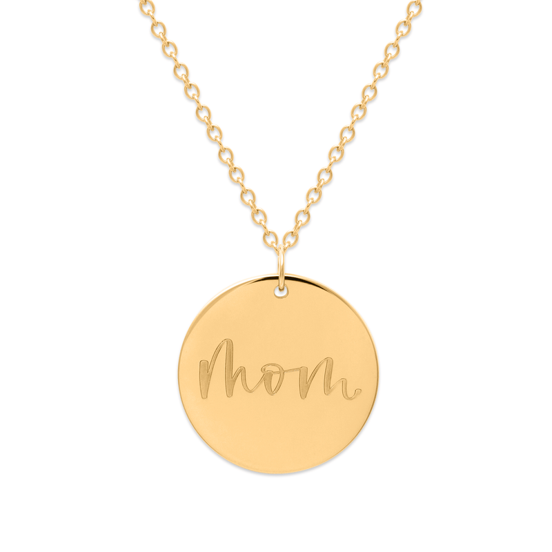 Mom Kette #mommycollection Jewelry frau-hoelle 925 Silver Gold Plated S (45cm)