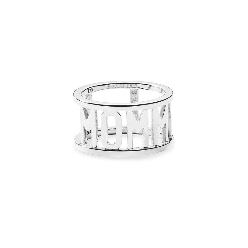 Mommy Ring Jewelry saskias-beauty-blog 925 Silver XS - 49 (15.6mm)