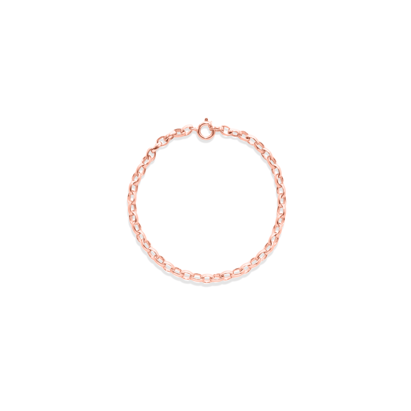 New York Chain Armband Jewelry sammi-maria Rose Gold Vermeil