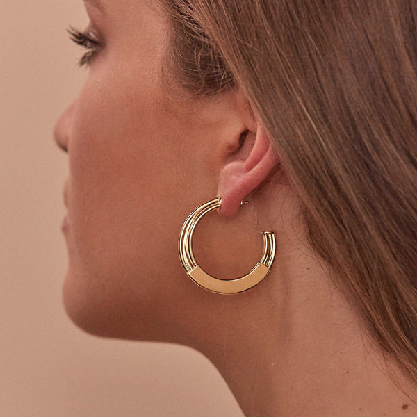 New York Deco Hoops Jewelry sammi-maria