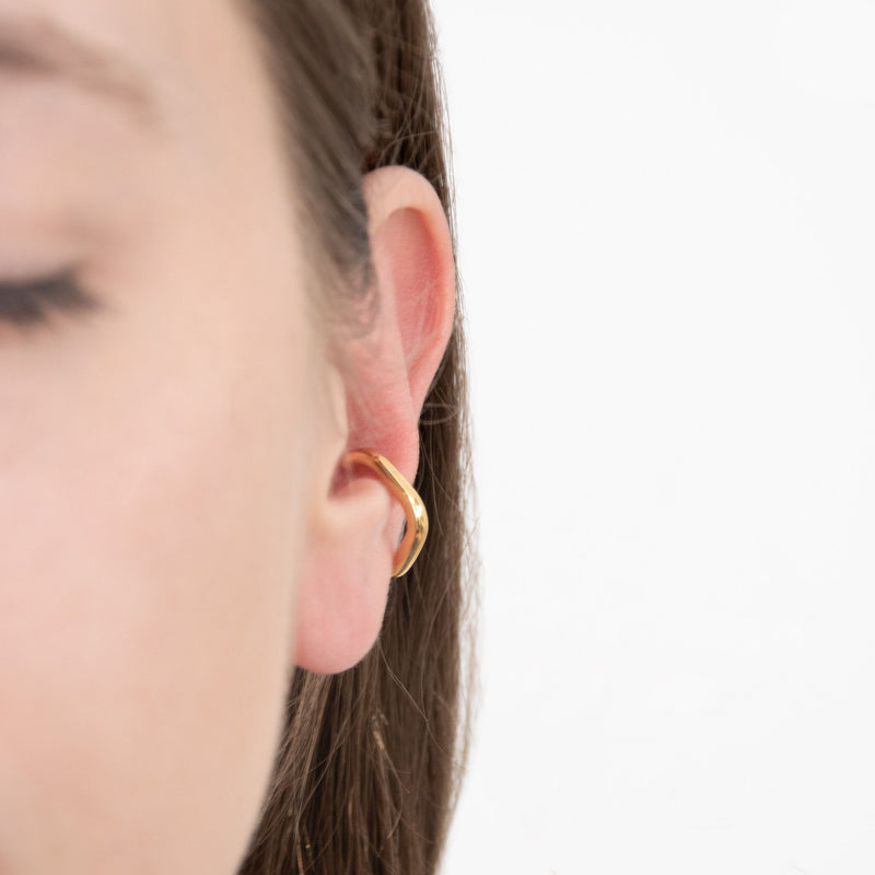 Nexus Ear Cuff - Solid Gold Jewelry stilnest