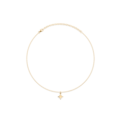 North Star Choker Jewelry taylor-lashae 24ct Gold Vermeil