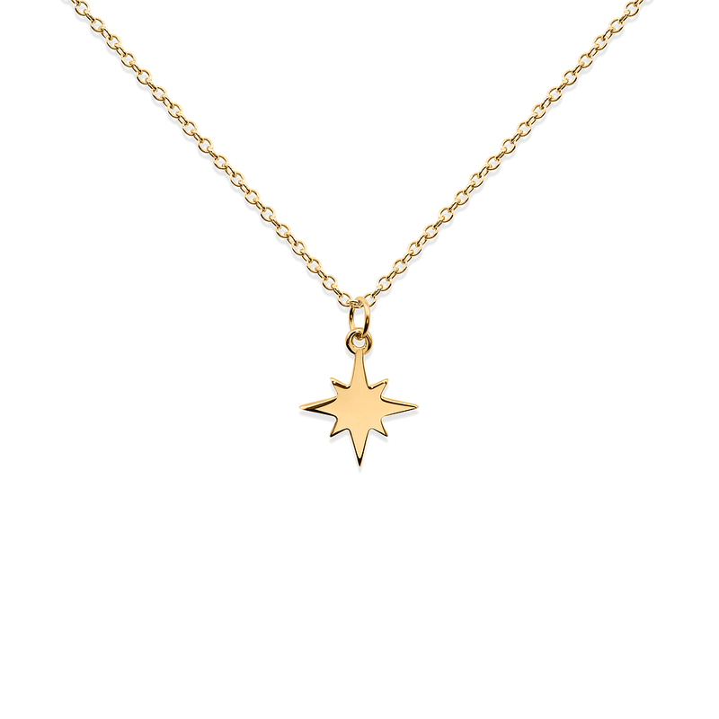 North Star Kette Jewelry taylor-lashae 24ct Gold Vermeil S (45cm)