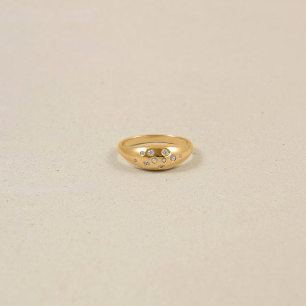 Offbeat Ring Jewelry stilnest 24ct Gold Vermeil XS - 49 (15.6mm)