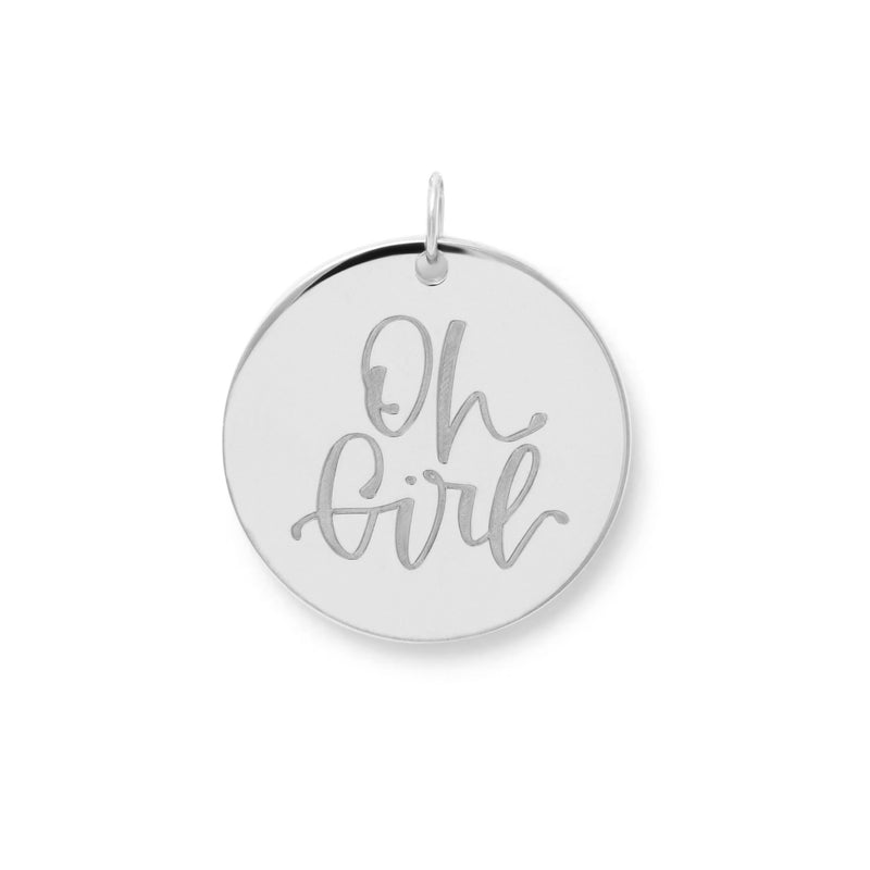 Oh Girl Anhänger #mommycollection Jewelry frau-hoelle 925 Silver