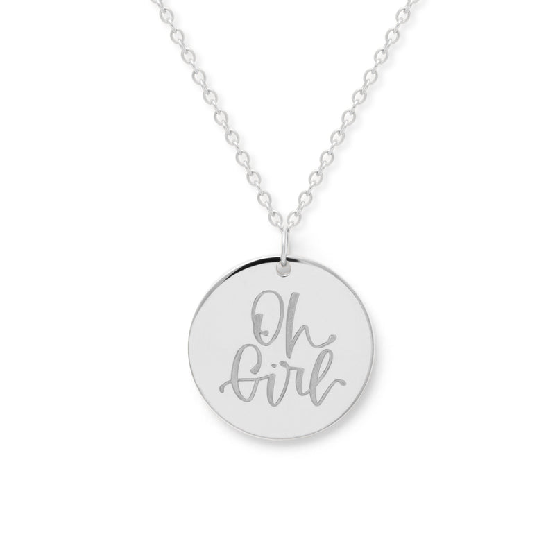 Oh Girl Kette #mommycollection Jewelry frau-hoelle 925 Silver S (45cm)