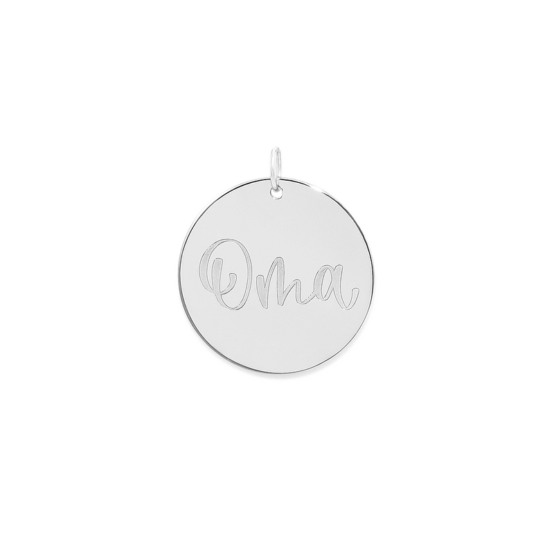Oma Anhänger #mommycollection Jewelry frau-hoelle 925 Silver
