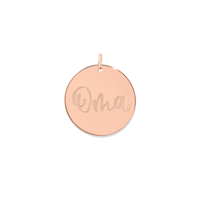 Oma Anhänger #mommycollection Jewelry frau-hoelle 925 Silver Rose Gold Plated