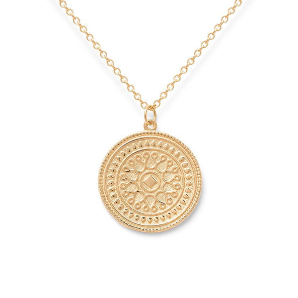 Origins Nr.1 Kette Jewelry nihan 925 Silver Gold Plated S (45cm)
