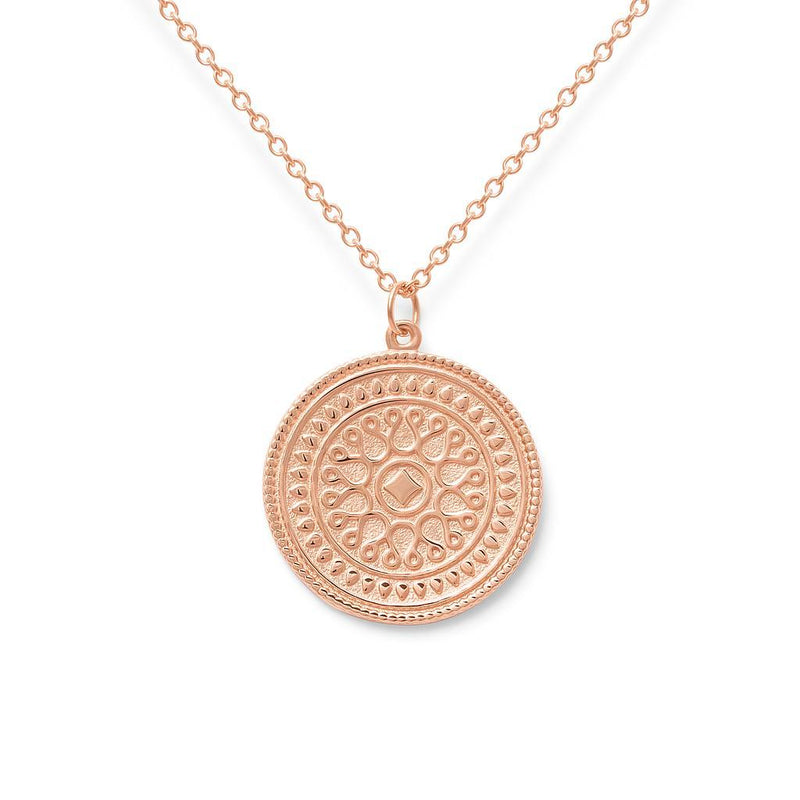 Origins Nr.1 Kette Jewelry nihan 925 Silver Rose Gold Plated S (45cm)