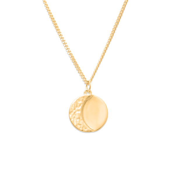 Ours Moon Phases Nr.1 Kette Jewelry ella-thebee 925 Silver Gold Plated