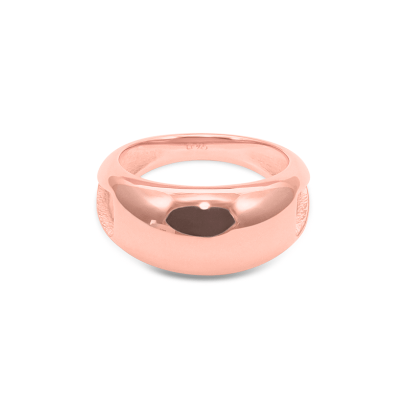 Paris Orb Ring Jewelry sammi-maria Rose Gold Vermeil L - 60 (19.1mm)