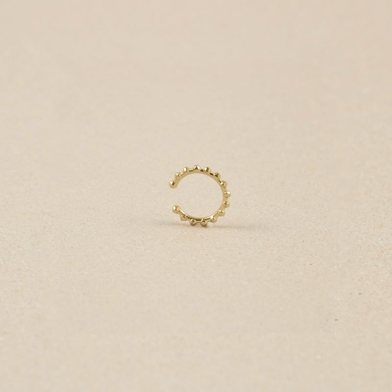 Party Stack Ear Cuff 14k Massivgold Jewelry stilnest
