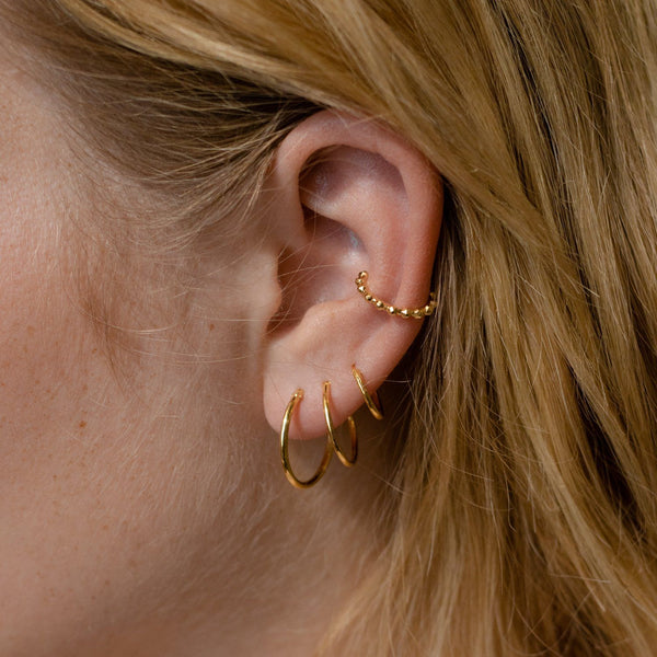 Party Stack Earcuff - Solid Gold Jewelry Stilnest