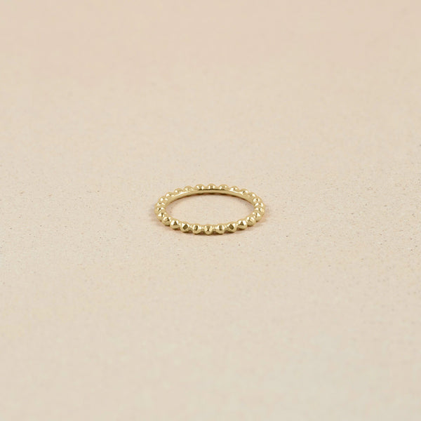 Party Stack Ring 14k Massivgold Jewelry stilnest 14k Massivgold XS - 49 (15.6mm)