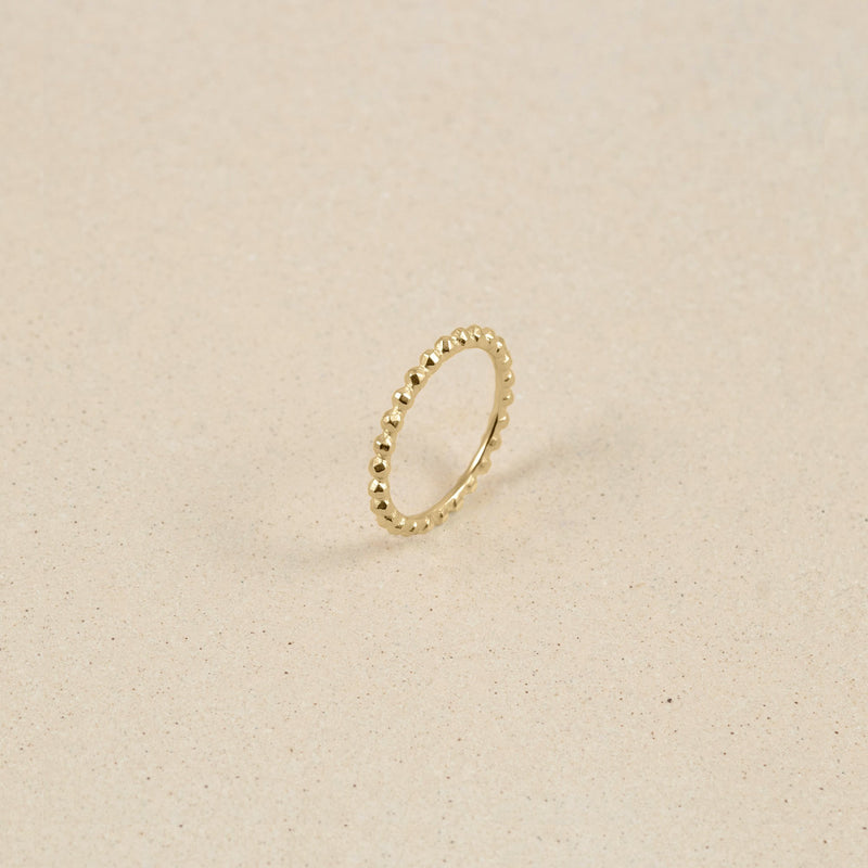 Party Stack Ring 14k Massivgold Jewelry stilnest