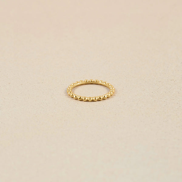 Party Stack Ring Jewelry stilnest 24ct Gold Vermeil XS - 49 (15.6mm)