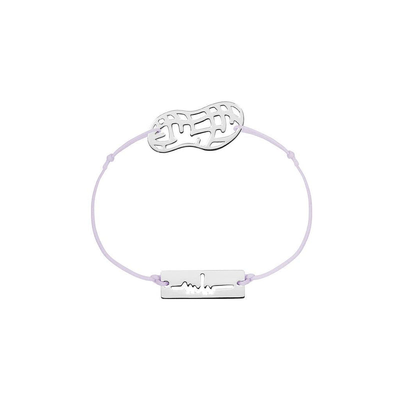 Peanut Charm Jewelry marina-hoermanseder 925 Silver Lavender