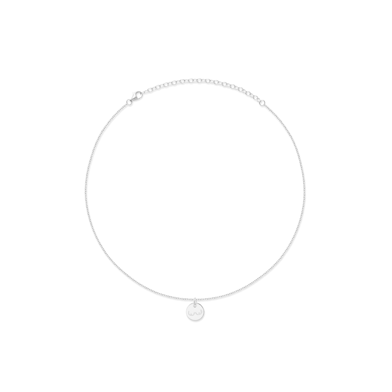 Petite Boobs Choker Jewelry frau-hoelle 925 Silver