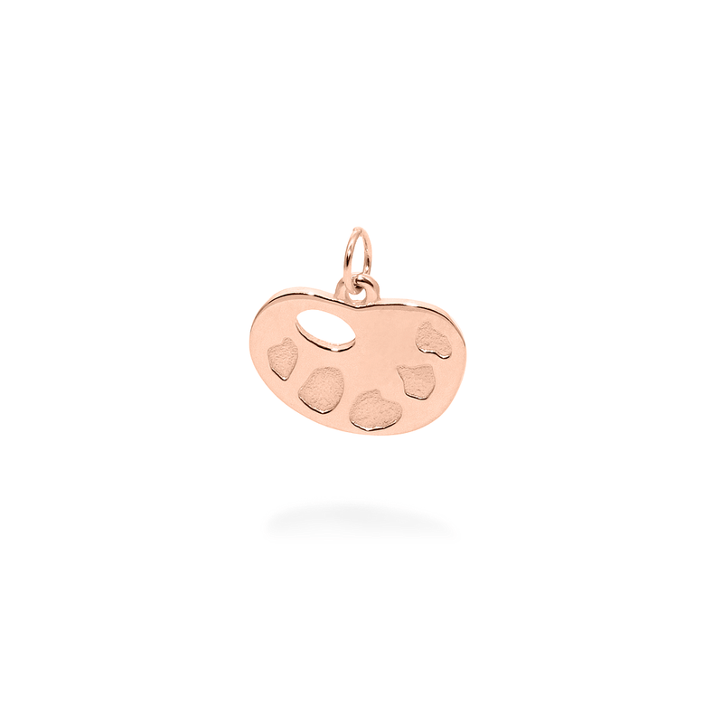 Petite Palette Charm Anhänger Jewelry frau-hoelle 925 Silver Rose Gold Plated